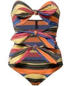 Lisa Marie Fernandez   Tripple Poppy Maillot Swimsuit Womens Size Ii Nylon/Spandex/Elastane