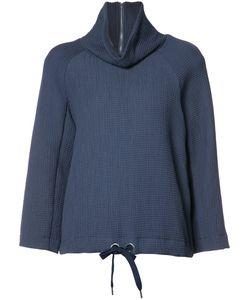 Rodebjer   High Neck Sweatshirt Womens Size Small Viscose/Cotton/Polyamide