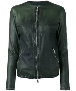 Giorgio Brato   Zipped Biker Jacket Womens Size 40 Leather