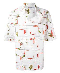 Chalayan | Strayed Neckline T-Shirt Mens Size 48 Cotton