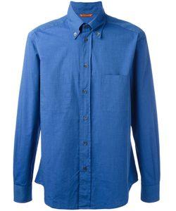 Barena   Buttoned Down Collar Shirt Mens Size 46 Cotton/Spandex/Elastane