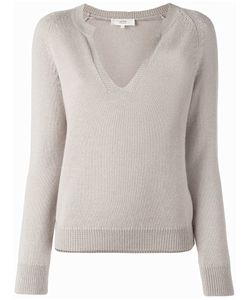 Vanessa Bruno Athé | V-Neck Knitted Top Womens Size Large Alpaca