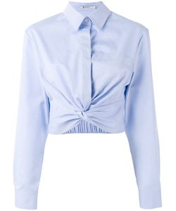 T by Alexander Wang | Cropped Shirt Womens Size 6 Cotton