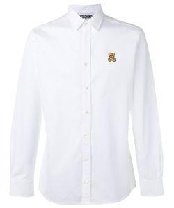 Moschino   Bear Embroide Shirt Mens Size 39 Cotton