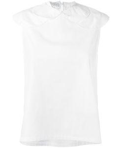 Société Anonyme   Small Circles Blouse Womens Size 2 Cotton