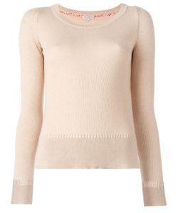 Etro | Round Neck Jumper Womens Size 42 Cotton/Cashmere
