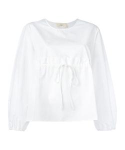 Ports   1961 Gathe Blouse Womens Size 44 Cotton