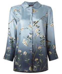 'S Max Mara | Print Concealed Button Shirt Womens Size 46