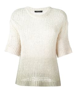 Roberto Collina | Cropped Sleeves Jumper Womens Size Xs Silk