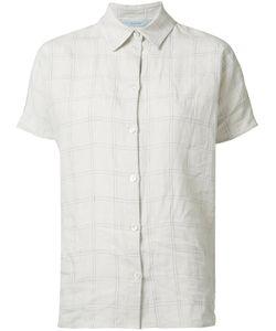 Dusan   Short-Sleeve Shirt Womens Size Small Linen/Flax