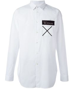 Cy Choi | Witness And Cross Patch Shirt