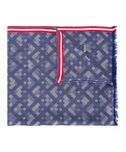Bally | Geometric Pattern Scarf Adult Unisex Silk/Cotton/Cashmere