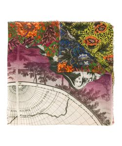 Faliero Sarti | Magic World Print Scarf Adult Unisex Silk/Modal
