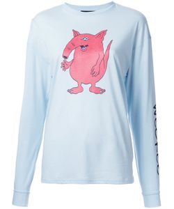 G.V.G.V. | Cartoon Print Longsleeved T-Shirt Size Xs Cotton/Lyocell