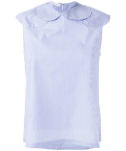 Société Anonyme   Small Circles Blouse Size 1 Cotton