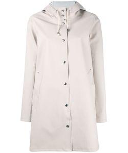 Stutterheim   Mosebacke Coat Womens Size Small Cotton/Polyester/Pvc