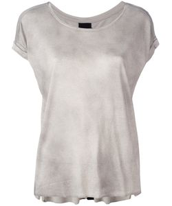 Thom Krom | Round Neck T-Shirt Womens Size Small Linen/Flax/Viscose
