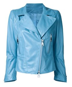 Sylvie Schimmel | Zip Up Jacket Womens Size 38 Nappa Leather