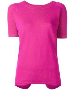Cédric Charlier | Short Sleeve Jumper Womens Size 40 Cashmere/Wool