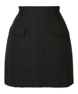 Vera Wang | Tailo Mini Skirt Womens Size 0 Cotton/Nylon/Wool