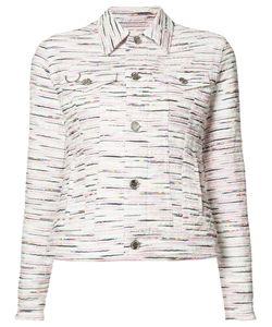 Julien David | Patterned Jacket Size Medium Cotton/Acrylic/Cupro/Nylon