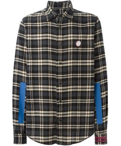 Sold Out Frvr | Printed Back Checked Shirt