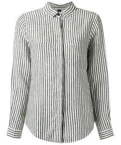 Osklen | Striped Shirt Size G Linen/Flax