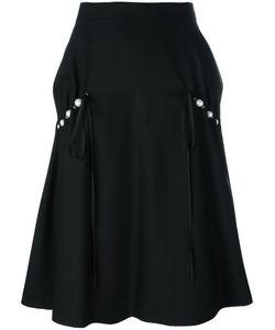 Comme Des Garçons Noir Kei Ninomiya | Pearled Trim Skirt Womens Size