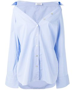 Aviù | Wide Neck Shirt Womens Size 44 Cotton/Acrylic/Spandex/Elastane