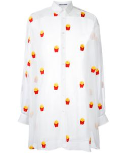 Mikio Sakabe | French Fries Shirt Adult Unisex Size Xl Polyester