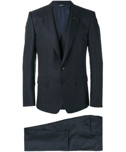 Dolce & Gabbana   Bee Patch Patterned Three-Piece Suit Mens Size 50