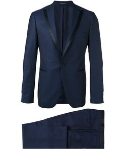 Tagliatore   Peaked Lapel Two-Piece Suit Mens Size 52 Virgin Wool/Cupro