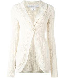 Christian Dior Vintage | Long Knit Cardigan Womens Size Medium