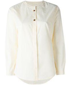 Humanoid | Collarless Shirt Womens Size Large Cotton