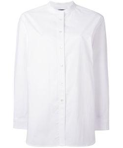 Odeeh | Mandarin Neck Shirt Womens Size 40 Cotton