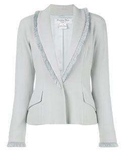 Christian Dior Vintage | Fringe Trim Bolero Jacket Womens Size 38