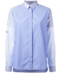 Each X Other | Concealed Fastening Striped Shirt Womens Size Medium