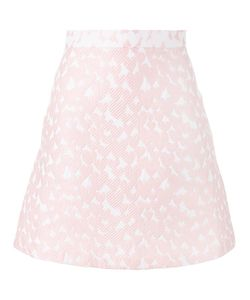 House Of Holland | Heart Jacquard Mini Skirt Womens Size 14