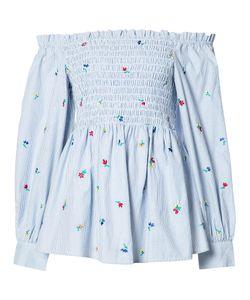 Suno   Off Shoulder Blouse Womens Size 6 Cotton