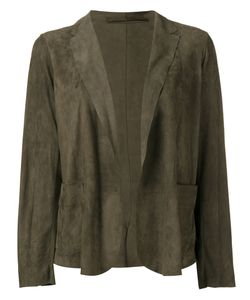 Salvatore Santoro | Panelled Jacket Womens Size 42 Leather