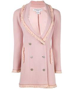 Christian Dior Vintage | Fringe Trim Coat Womens Size 36
