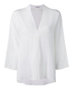 P.A.R.O.S.H. | V Neck Blouse Womens Size Medium Silk