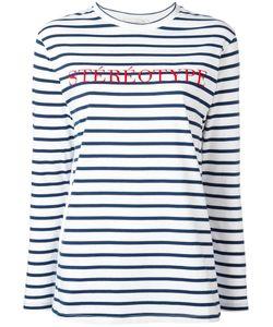 Être Cécile | Stéréotype Embroidery T-Shirt Womens Size Xs Cotton