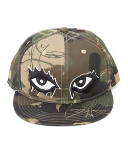 Haculla | Camouflage Print Eyes Cap Adult Unisex Cotton