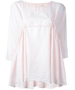 Daniela Gregis | Ruffle-Detail Blouse Womens Cotton
