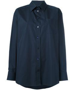 Maison Margiela | Oversized Smart Shirt Womens Size 46 Cotton