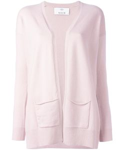 Allude | Pocket Detail Cardigan Womens Size Small Cashmere