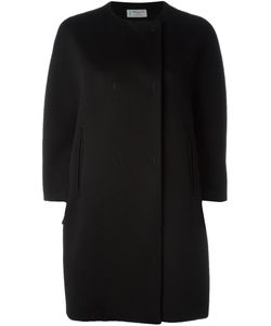 Alberto Biani | Boxy Overcoat Womens Size 44 Virgin Wool/Viscose