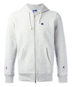 Champion | Zipped Hoddy Mens Size Medium Cotton/Polyester