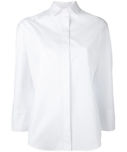 Aspesi | Concealed Placket Shirt Womens Size 42 Cotton